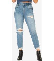 rewash juniors' super high-rise mom jeans