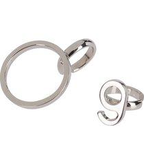 silver brass ear cuffs