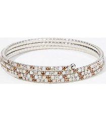 loft crystal coil bracelet