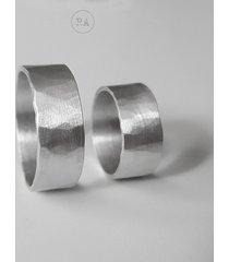 masywne obrączki ślubne srebro raso1 młotkowane