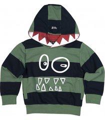 bluza friendly hoodie green