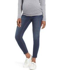 1822 denim ankle skinny maternity jeans, size 31 in giovanna at nordstrom