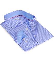 levinas men's contemporary-fit finollo dress shirt - blue - size 16