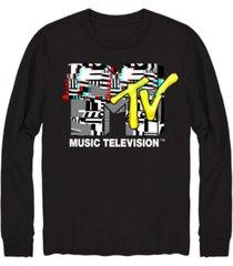 mtv glitch men's graphic t-shirt