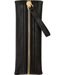 kelly wynne zip privacy pouch - black
