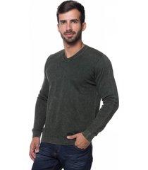 suéter basic le tisserand stoned verde