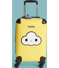 mini walizka na kółkach z chmurką