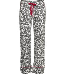 long pants pyjamasbyxor mjukisbyxor grå pj salvage