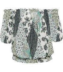 maglia in mesh (verde) - bodyflirt