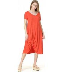 vestido florence liso naranja bous