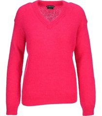 tom ford brushed mohair wool sweater