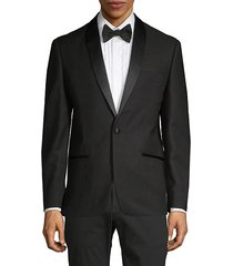 tonal-lapel dinner jacket