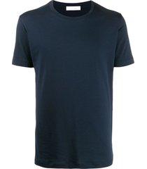 cruciani blue cotton t-shirt