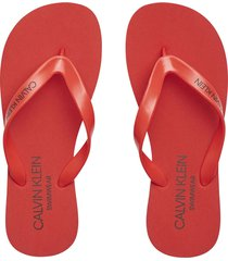 sandalia ff sandals rojo calvin klein