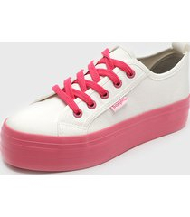 zapatilla new canvas fucsia bamers