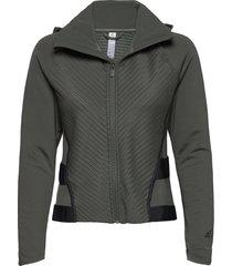 t jkt c.rdy outerwear sport jackets grijs adidas performance