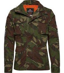 hero rookie military jacket dun jack groen superdry