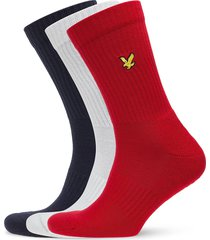 hamilton underwear socks regular socks röd lyle & scott