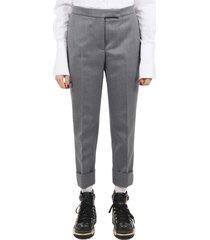 thom browne classic grey trousers