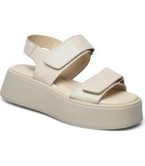 courtney shoes summer shoes flat sandals creme vagabond