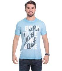 camiseta javali azul born