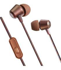 audífonos estéreo hd manos libres deportivos, kdk-207 auriculares de cancelación de ruido en la oreja con auriculares estéreo de bajo pesado (marrón)