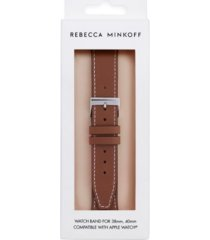 rebecca minkoff womens leather apple watch strap 38/40mm