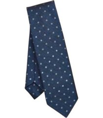 corbata end-on-end dotted silk azul brooks brothers