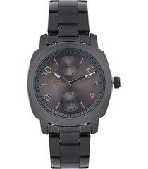 reloj negro-gris versace 19.69