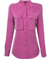 camisa rosa chá fancy 2 rosa feminina (magenta haze, gg)