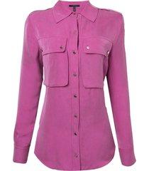 camisa rosa chá fancy 2 rosa feminina (magenta haze, pp)