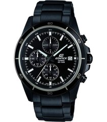 reloj casio efr-526bk-1a1vudf negro acero inoxidable