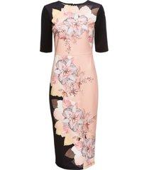 abito  con fiori (nero) - bodyflirt boutique