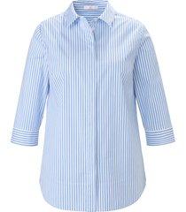 blouse 3/4-mouwen van emilia lay blauw