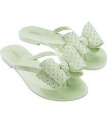 sandalia verde menta melissa harmonic sweet iv