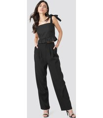 beyyoglu pleated palazzo pants - black