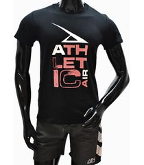 ***camiseta tshirt-negro-rojo athletic air m