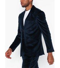 premium by jack & jones jprhannibal vick blazer kavajer & kostymer mörk blå