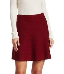 lotamee wool-blend mini skirt