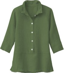 lichte linnen blouse, salie 34