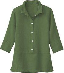 lichte linnen blouse, salie 40