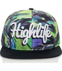 gorra multicolor official highlife aloha grn
