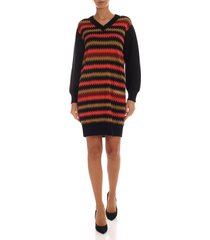 m missoni - dress with contrasting pattern