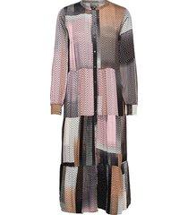 cusahar long dress jurk knielengte multi/patroon culture