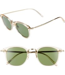 men's oliver peoples 49mm round sunglasses -