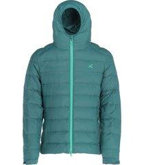 chaqueta pluma 700 hombre verde andesgear