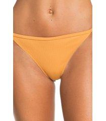 women's roxy mind of freedom bikini bottoms, size x-large - orange