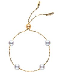 women's mikimoto japan collections pearl slide bracelet