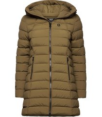 arabella w coat fodrad jacka grön 8848 altitude