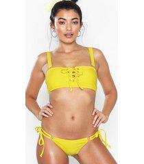 south beach yellow monowire bikini briefs trosa